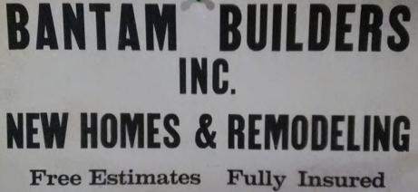 Bantam Sign